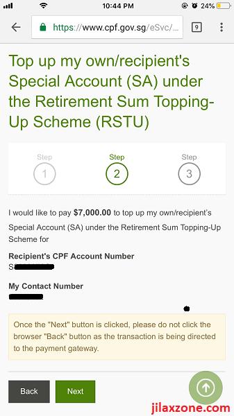 7 CPF cash top-up jilaxzone.com RSTU Step 2