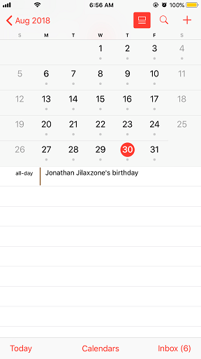 calendar 30 august 2018 my 32nd birthday jilaxzone.com