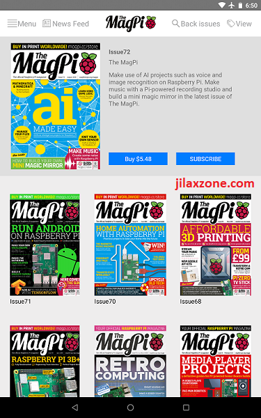 raspberry pi magpi app jilaxzone.com