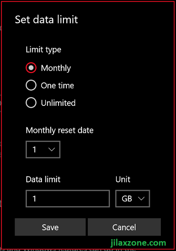 Under Data Usage, check your current usage, limit Background Data and Set limit to your Wi-Fi internet connection