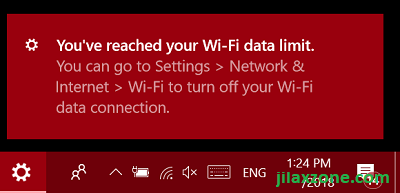 6. wifi metered connection - wifi data limit reached jilaxzone.com