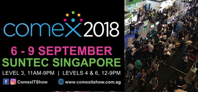 Comex 2018 Singapore jilaxzone.com