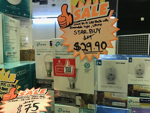 Comex 2018 jilaxzone.com smart bulbs and smart plugs