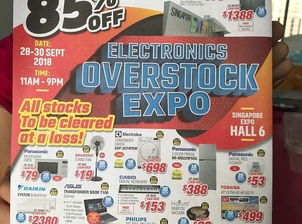 Singapore Electronic Overstock Expo 2018 jilaxzone.com