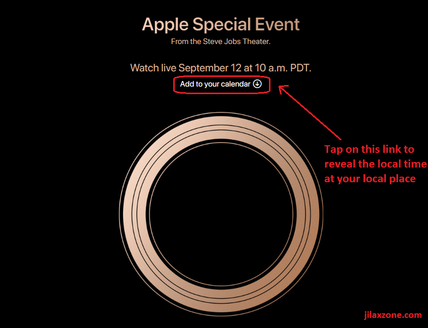 apple special event september 2018 local time jilaxzone.com