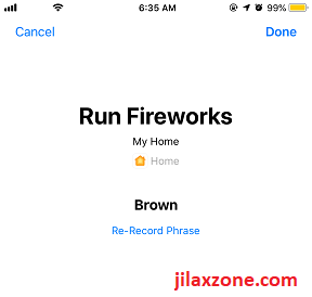 iOS 12 Siri Shortcuts HomeKit Siri Shortcut jilaxzone.com