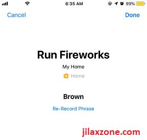 iOS 12 Siri Shortcuts HomeKit Siri Shortcut jilaxzone.com