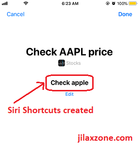 iOS 12 Siri Shortcuts verify check apple jilaxzone.com
