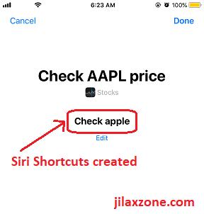 iOS 12 Siri Shortcuts verify check apple jilaxzone.com