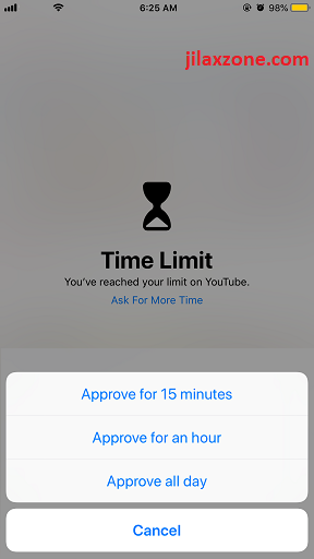 ios 12 screentime downtime ask for more time jilaxzone.com
