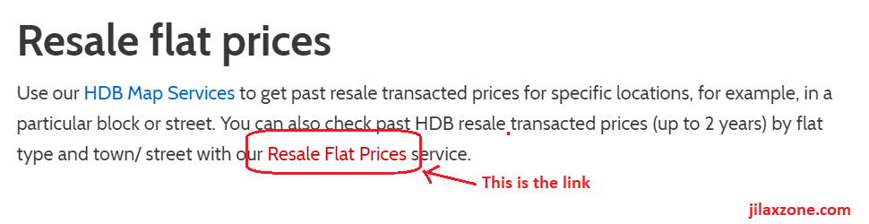 HDB resale flat prices jilaxzone.com