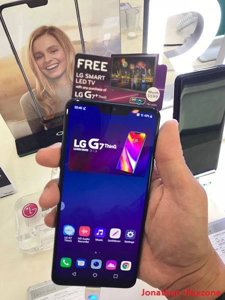 LG G7 ThinQ promotion singapore jilaxzone.com the phone
