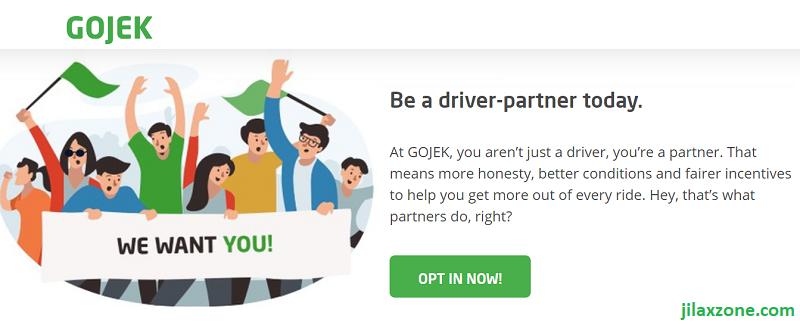 gojek be a gojek driver jilaxzone.com