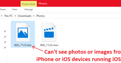 unable to see iphone heic image on windows jilaxzone.com