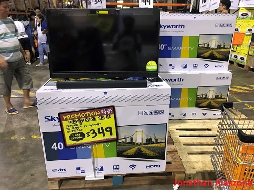 Giant Tampines Warehouse Sale November 2018 jilaxzone.com TV 40 inch