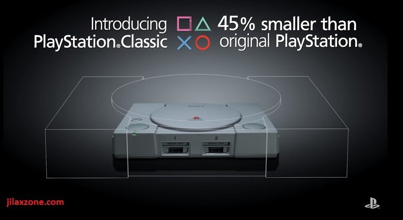 PlayStation Classic Dual Shock Analog Controller jilaxzone.com