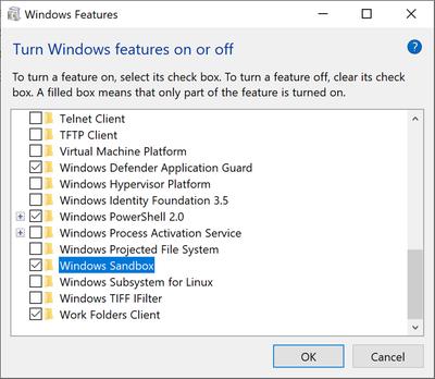 Download Windows Sandbox on Windows 10 jilaxzone.com
