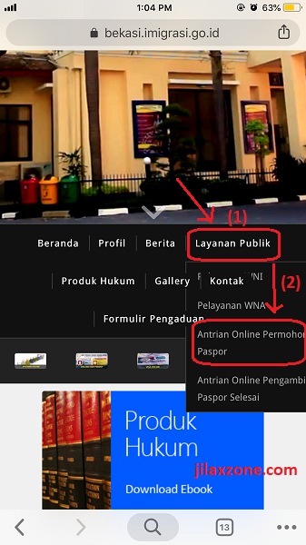 Antrian Paspor Bekasi Antrian Permohonan Paspor jilaxzone.com
