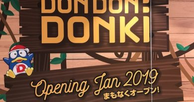 Don Don Donki City Square Mall Singapore opening in January 2019