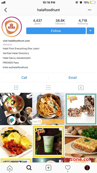 Follow HalalFoodHunt instagram jilaxzone.com