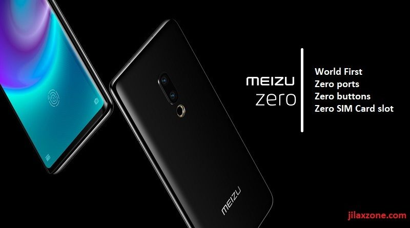 Meizu Zero world first zero ports zero buttons zero simcard slot phone jilaxzone.com