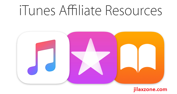 Apple iTunes Affiliate Resources logo jilaxzone.com
