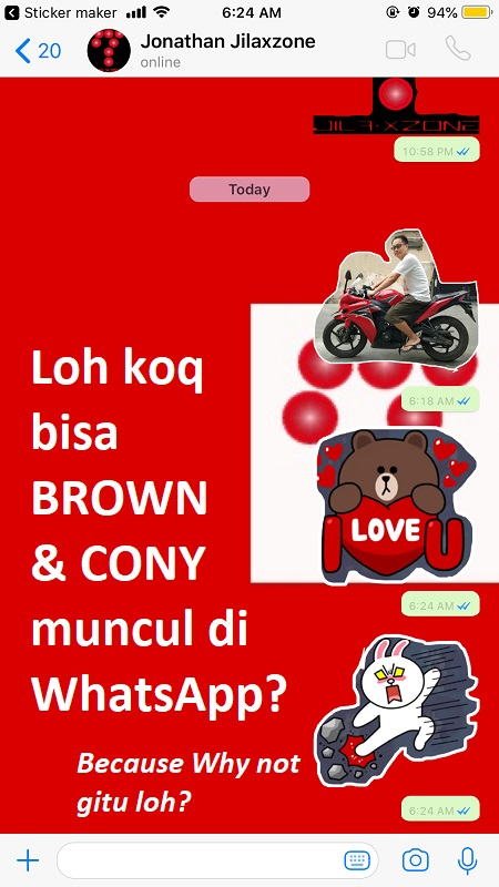 WhatsApp Sticker Maker bikin stiker whatsapp sendiri jilaxzone.com