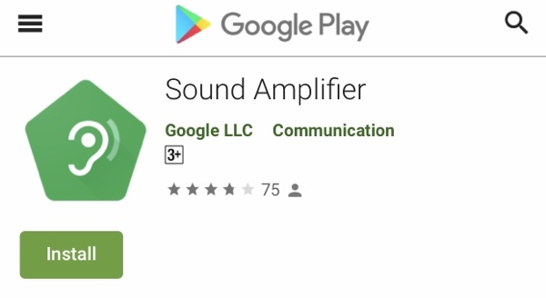 Download Google Sound Amplifier - the app that helps people with hearing difficulties jilaxzone.com