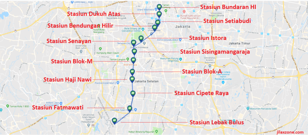 jakarta mrt map 2019 jilaxzone.com