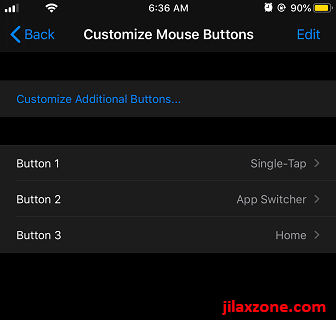 ios connect mouse to iphone ipad customize mouse click button jilaxzone.com
