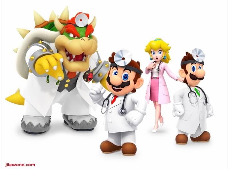 Dr Mario World characters jilaxzone.com