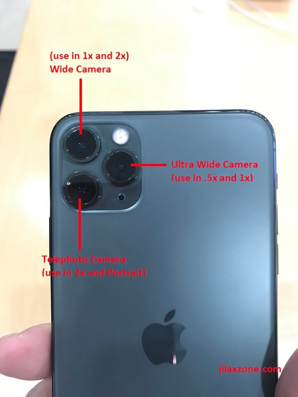 iPhone 11 pro max camera configurations jilaxzone.com