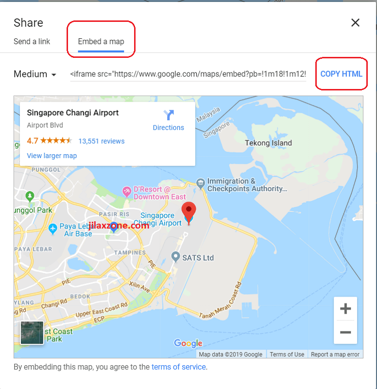 Embedding Dynamic Google Map To Your Website Sample For Wordpress