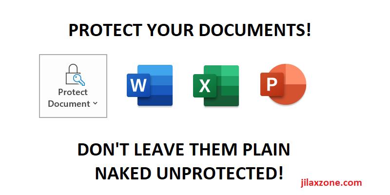 password protect powerpoint word excel jilaxzone.com