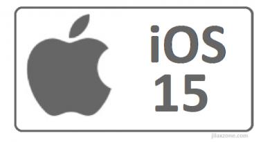 apple ios 15 logo jilaxzone.com
