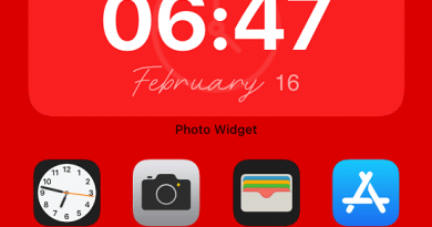 display big clock widget on iphone jilaxzone.com