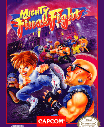 Mighty Final Fight (USA) cover jilaxzone.com